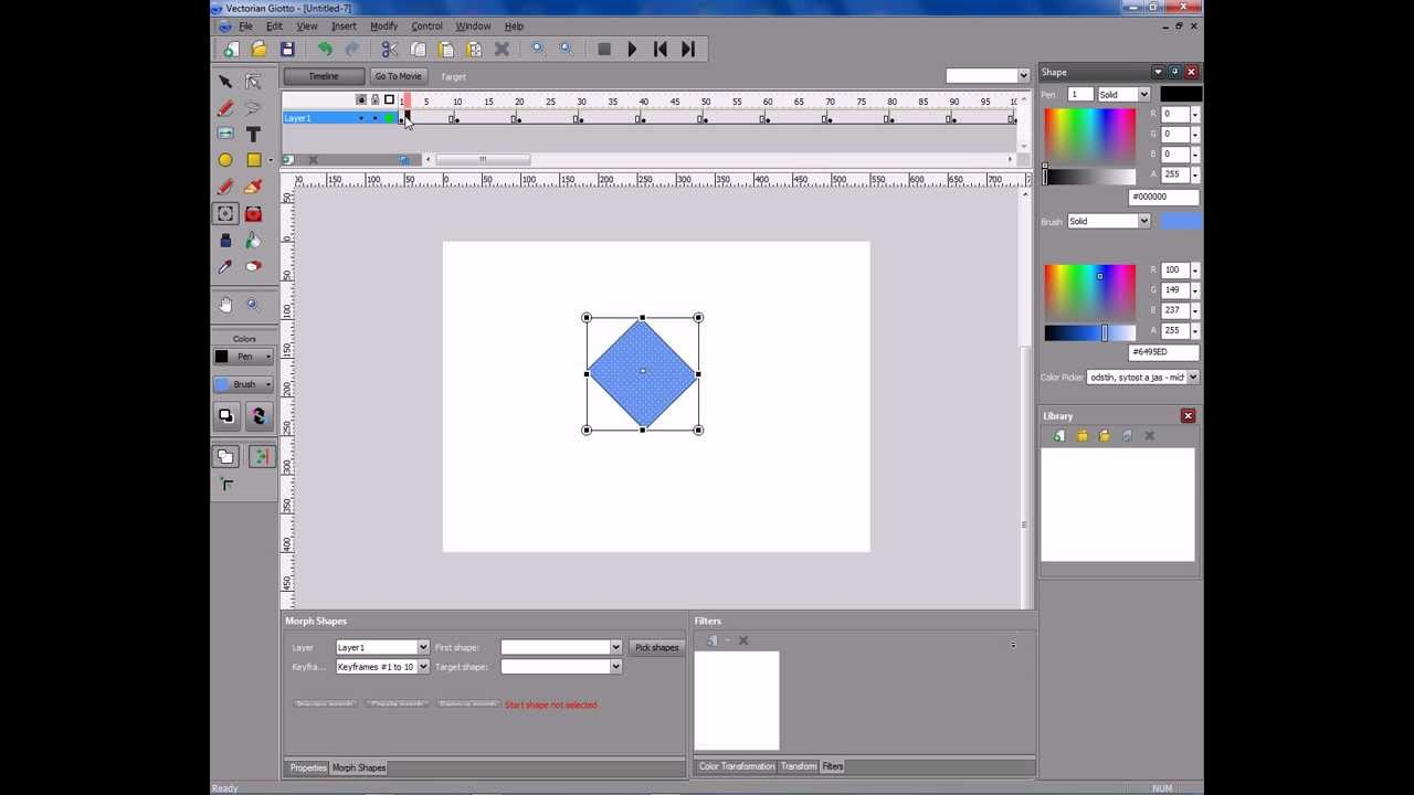 Vectorian giotto make effect /tutorial/ youtube.