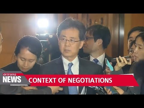S. Korean trade minister draws line between FTA and currency issue