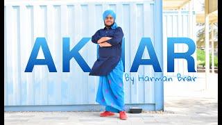AKHAR | BHANGRA VIDEO 2020 | AMRINDER GILL | HARMAN BRAR | SINGH STUDIOZ DUBAI | JHOOMAR