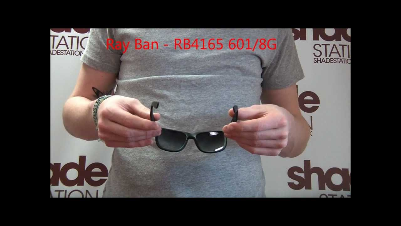 f8a0a010cfdf59 Ray Ban Sunglasses Review - RB4165 601 8G - YouTube
