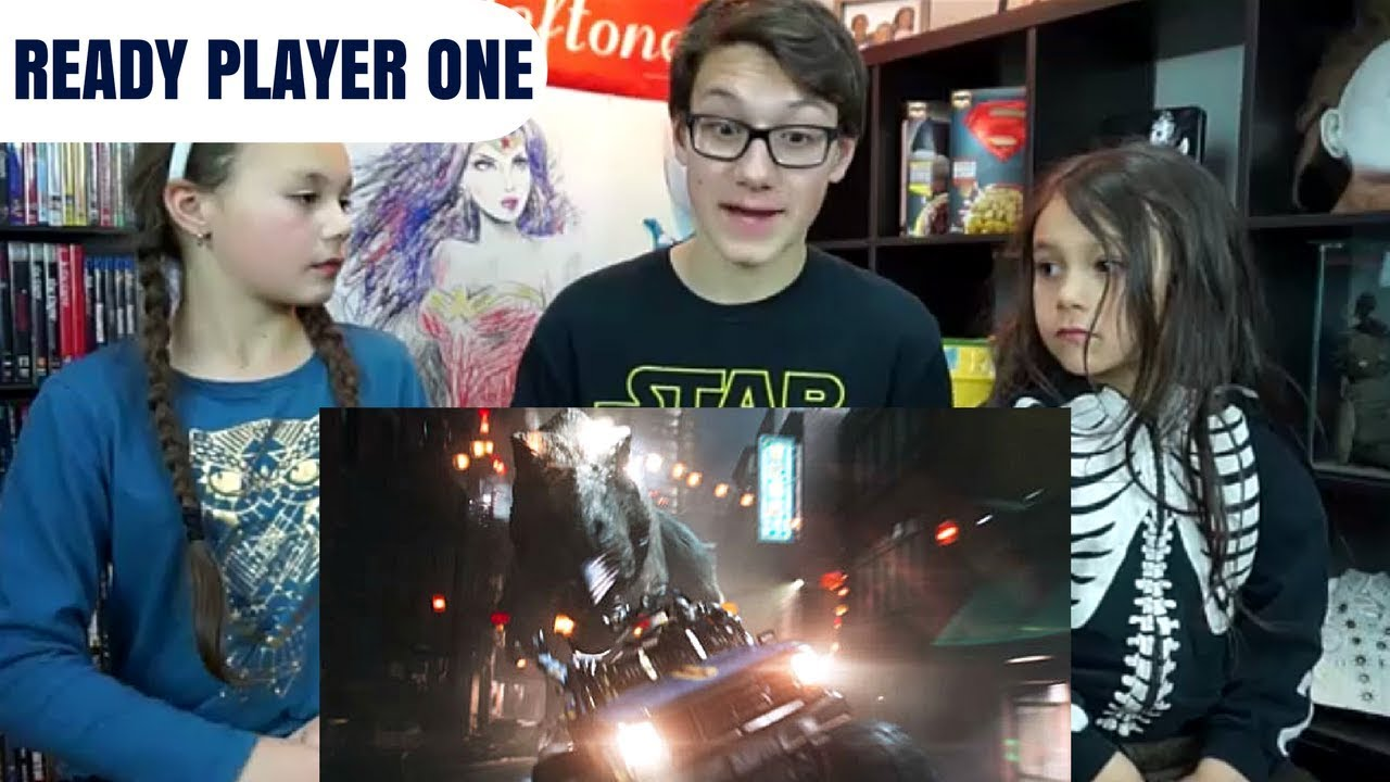 Download READY PLAYER ONE Final Trailer Reaction!!!