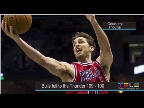Chicago Bulls vs OKC Thunder - Blackhawks vs San Jose Sharks Highlights