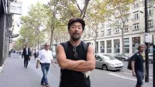 アキーラさん訪問①フランス・パリ・ラファイエット近くパリルック前(免税店)!Paris-Look(DFS) near Lafayette in Paris,France