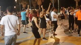 Netta Barzilai - Toy - Israel - Folk Dancing In Tel Aviv - נטע ברזילי - ריקודי ע