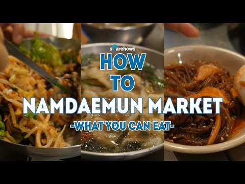 5 Foods you need to try in Namdaemun Market | HOW TO SEOUL