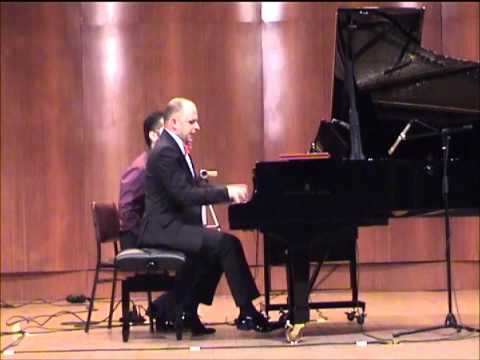 20th Century Music Concert (joined) Eskisehir Toros Can (3) Davidovsky Syncronisims No.6