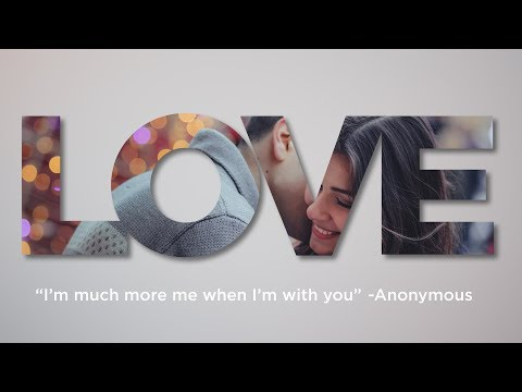 LOVE Text Effect in Photoshop CC, CS6, CS5 | Photoshop Text Effects