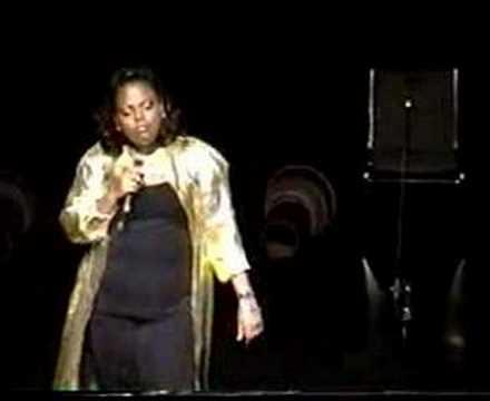 Caribbean Queen of Comedy Rachel Price @ Talk Tent 2001 Pt1