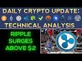 CRYPTO BOUNCE: RIPPLE MOON SHOT!!! (12/29/17) Daily Update + Technical Analysis