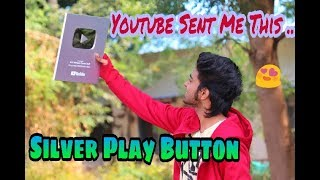 Siver Play Button From YouTube | Unboxing Video | ADS Advance Dance Stuff