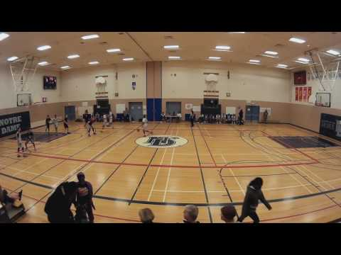 Ottawa Elite U14 Mixed vs Notre Dame High School Junior team