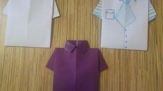 Открытка-рубашка мужчине своими руками День рождения 23 февраля(Такая открытка, сделанная своими руками может порадовать мужчину не только на 23 февраля, но и на день рожден..., 2013-11-28T08:21:06.000Z)