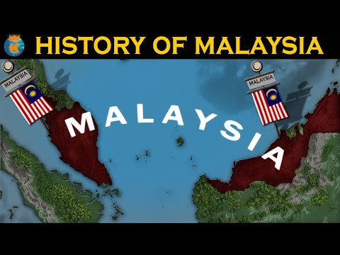 HISTORY OF MALAYSIA in 12 Minutes