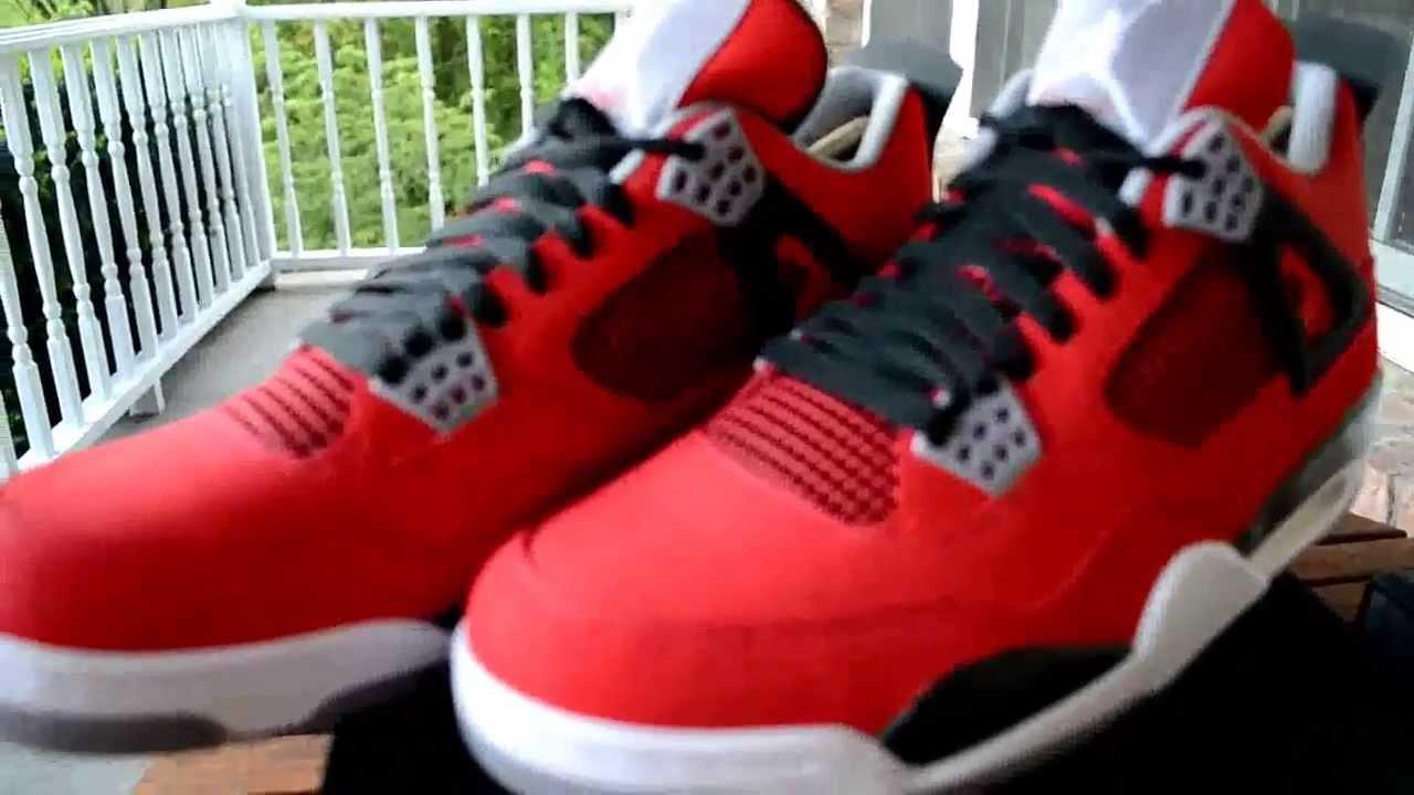4dd1cd8d554e3b Air Jordan IV  Toro Bravo  Review! + On Feet - YouTube