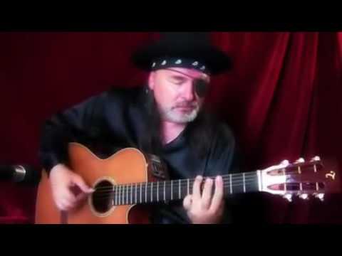 irama gitar sang bajak laut keren!!