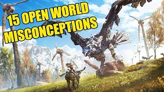 15 Misconceptions About Open World Games That You Believed