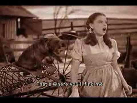 Judy Garland - Over The Rainbow (Subtitiles)