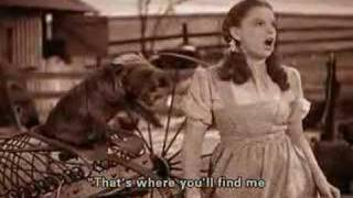 Judy Garland - Over The Rainbow (Subtitiles)
