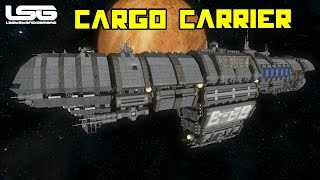 Space Engineers - Ecliptis B-68 Cargo Carrier