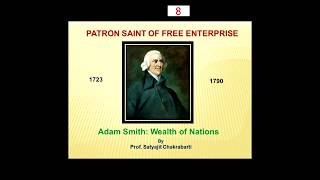 LECTURE 8 | FREE MARKET ECONOMY BY PROF. (DR.)  SATYAJIT CHAKRABARTI