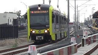 Opening Day On The Gold Line Foothill Extension Plus Regular Service Action
