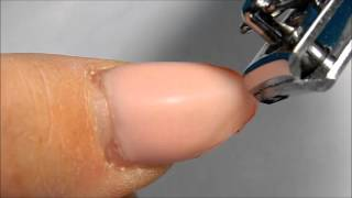 REMOVING GEL TIPS ---------------W/ ELECTRIC NAIL FILE ( DRILL )