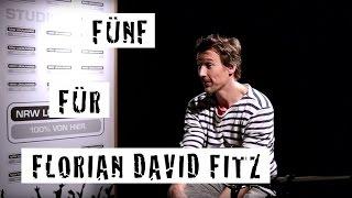 Fünf für Florian David Fitz - das Interview ohne Fragen