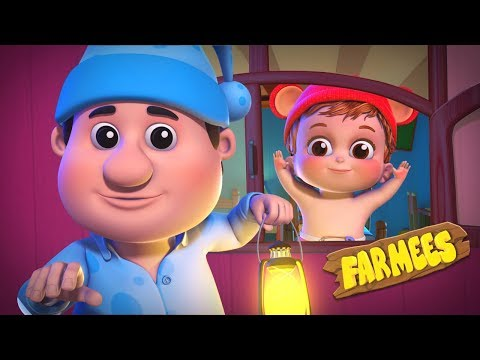 We Willie Winkie | Kindergarten Nursery Rhymes For Kids
