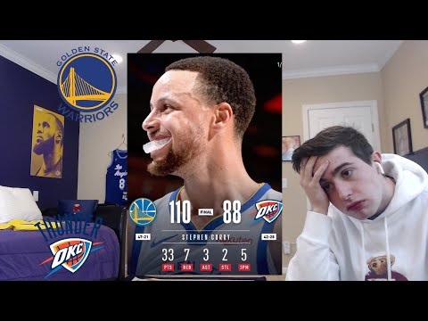 HOW DOES THIS HAPPEN?? WARRIORS THUNDER REACTION.. CONFERENCE FINALS PREVIEW??