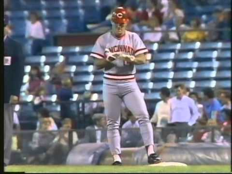 Reds at Braves 9-18-1985