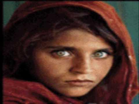 Sharbat Gula, the Afghan Girl by Chandru Arni