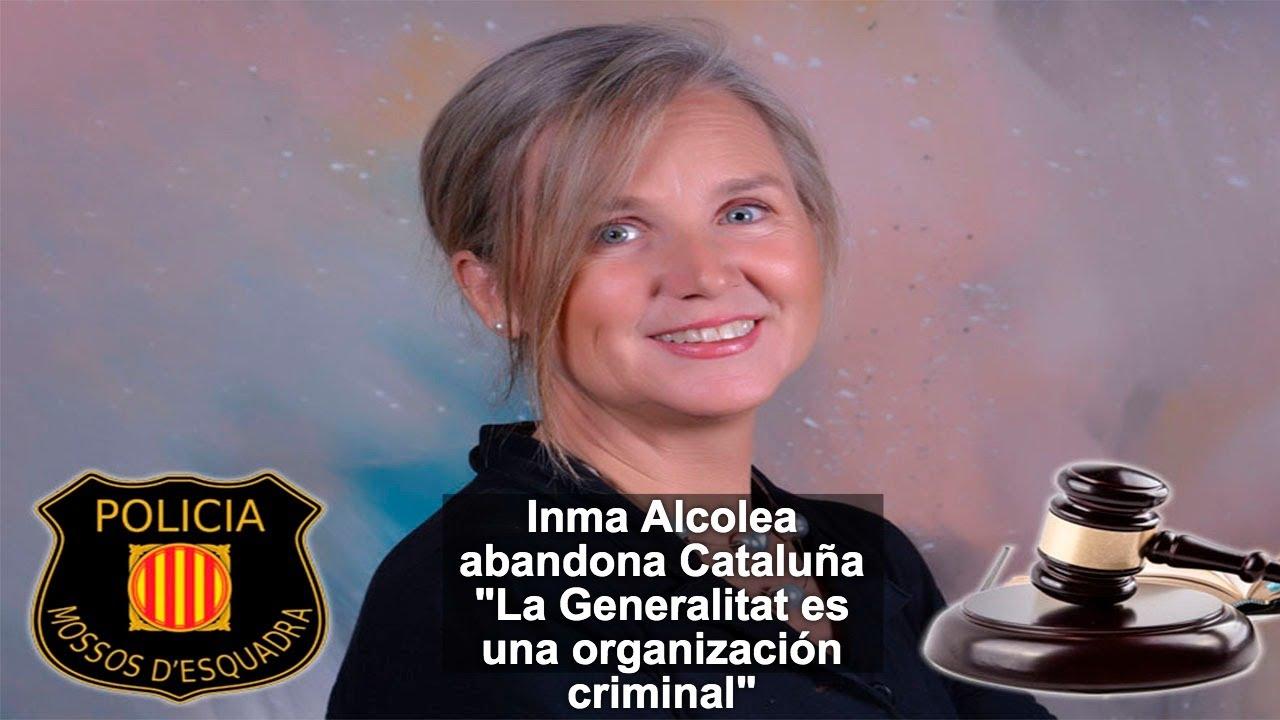 """Inma Alcolea: """"La Generalitat es una organización criminal"""""""