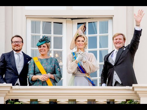 King WA & Queen Máxima in carriage to Dutch State Opening of Parliament