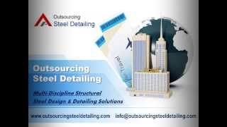 Steel Staircase Detailing Services | Outsourcing Steel Detailing