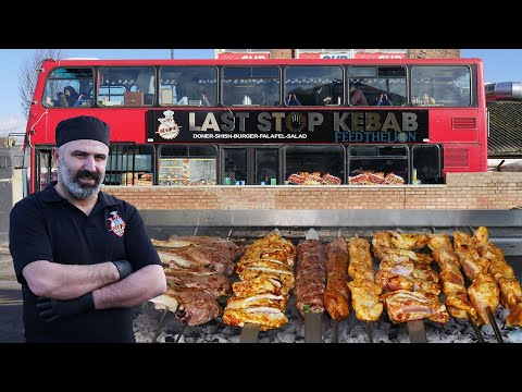 The Story Behind Last Stop Kebab, London's 1st Turkish Restaurant In A Double Decker Red Bus +𝟮𝟬%