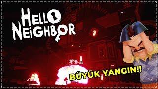 WILSON'UN EVİNDE BÜYÜK YANGIN! | Hello Neighbor [Türkçe] #162
