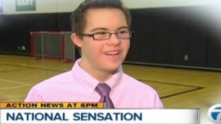 Down Syndrome Basketball Player Hits Three Pointers