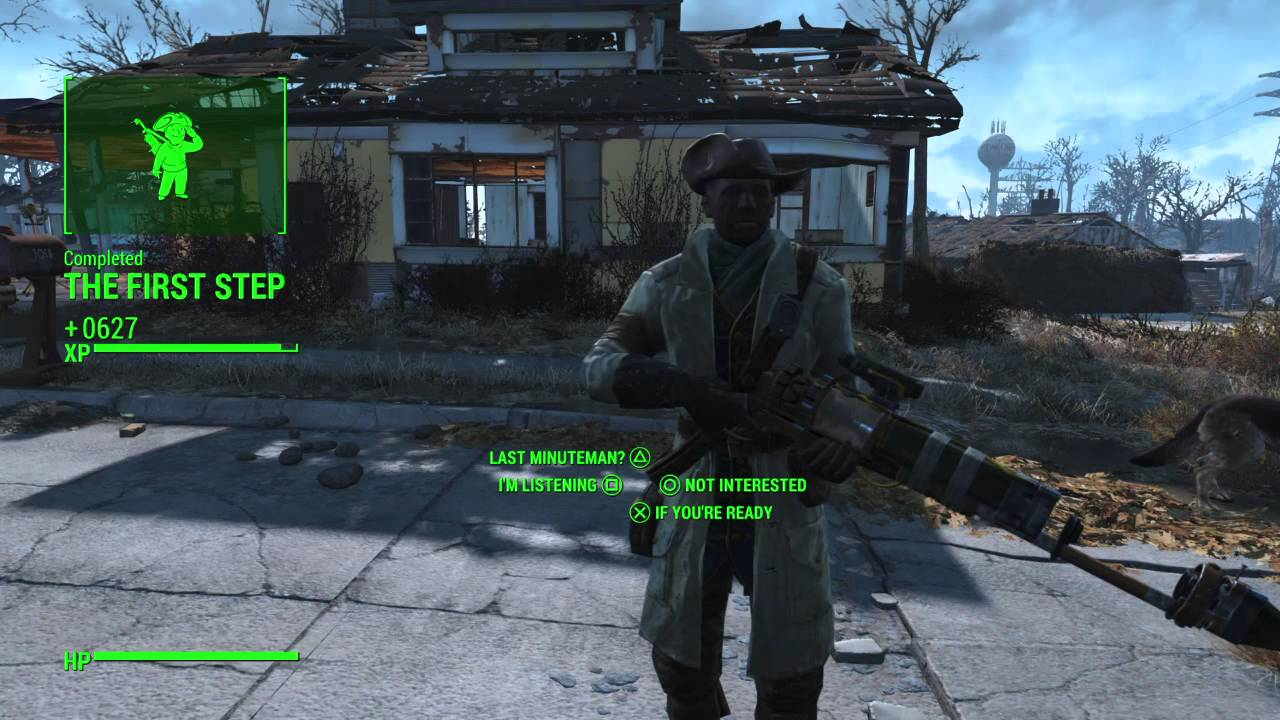 Fallout 4 Quest Xp With Idiot Savant Perk Youtube