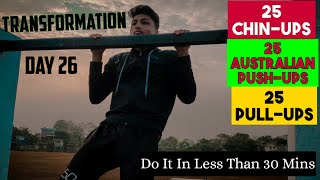 My Back Day Workout   Transformation Day 26