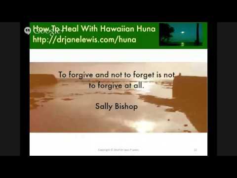Introduction to Huna Part 2: How To Heal WIth Hawaiian Huna
