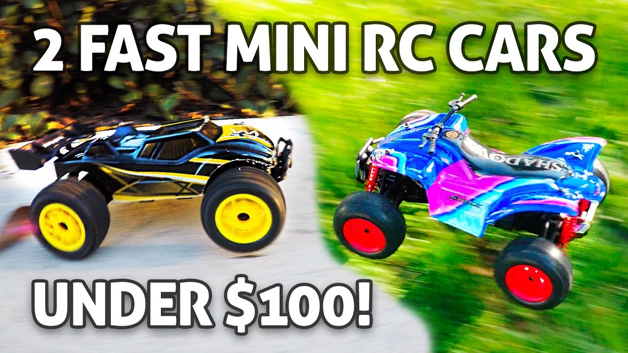 2 FAST 4WD Mini RC Cars Under $100 GPToys S607 & S609 1