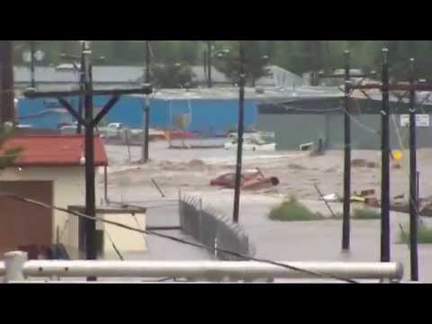 Insane Flooding in Longmont, CO - Sept. 12, 2013