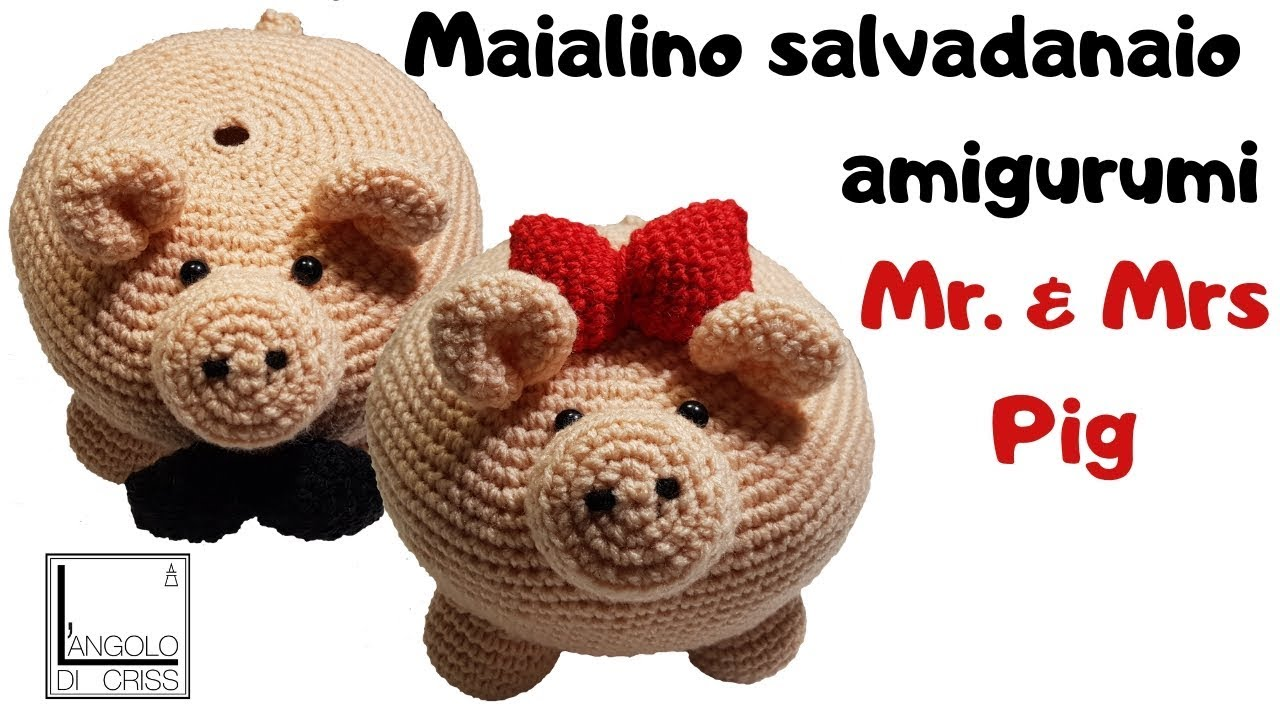 Amigurumi Knitting Amigurumi knitted mumps. Crochet amigurumi pig ... | 720x1280