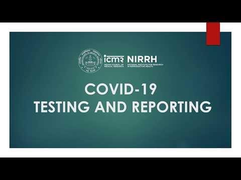 ICMR-NIRRH, Mumbai COVID-19 Testing and Reporting