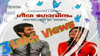 Geetha Govindham Malayalam Full HD Movie | Vijay Devarakonda | Rashmika Mandanna