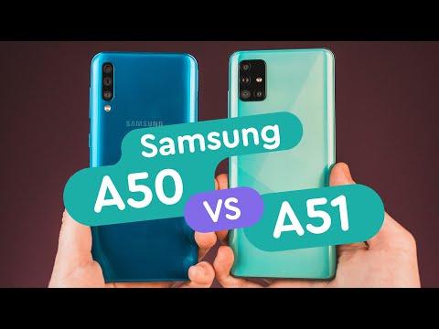 Samsung Galaxy A51 vs Samsung Galaxy A50 обзор и сравнение, тест камер, автономность