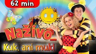 Smejko a Tanculienka - Kuk, ani muk! Celé predstavenie (60 minút)