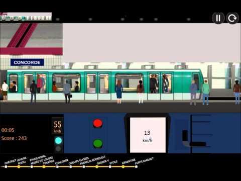 paris metro simulator ligne 1 ouest youtube. Black Bedroom Furniture Sets. Home Design Ideas
