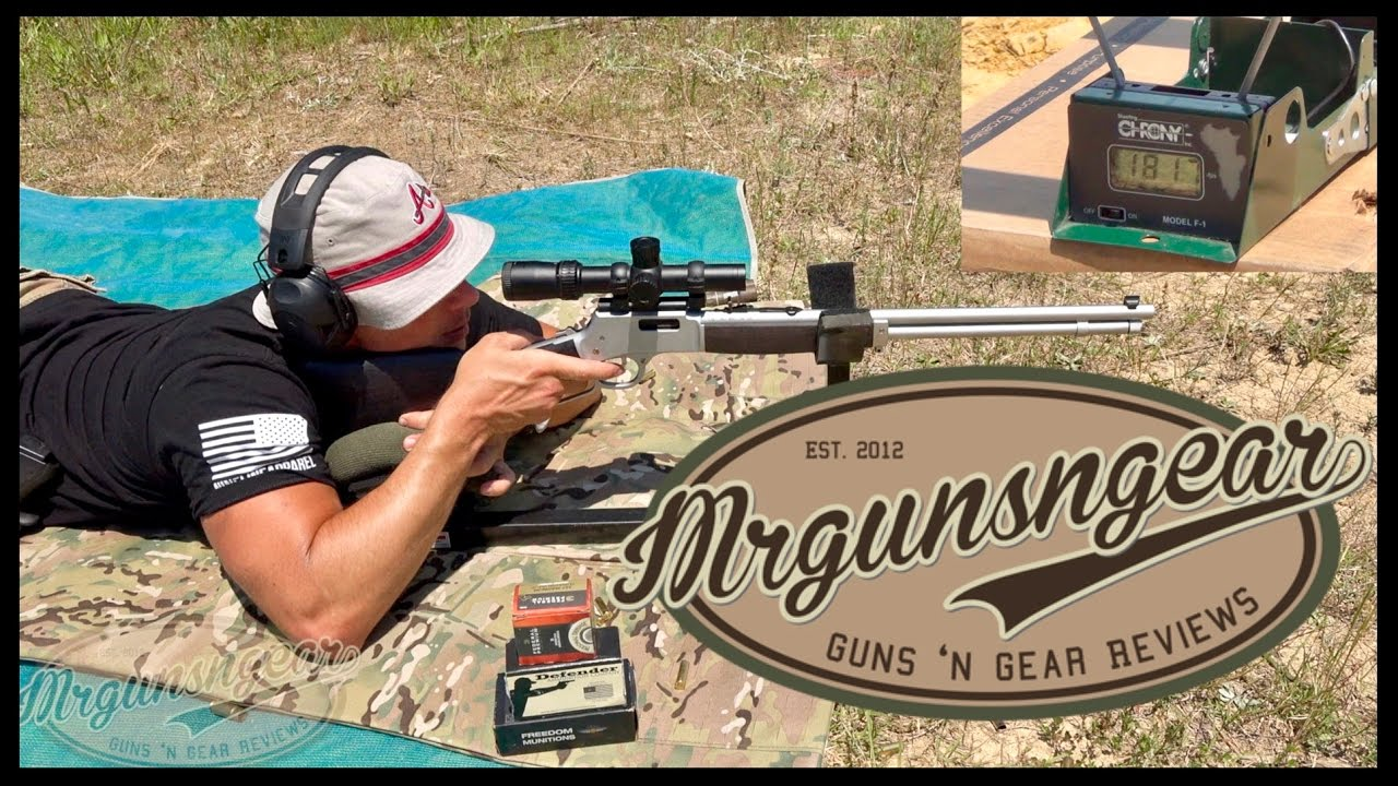 357 Magnum Ammo Chronograph Testing In A 20'' Henry All Weather Rifle (HD)