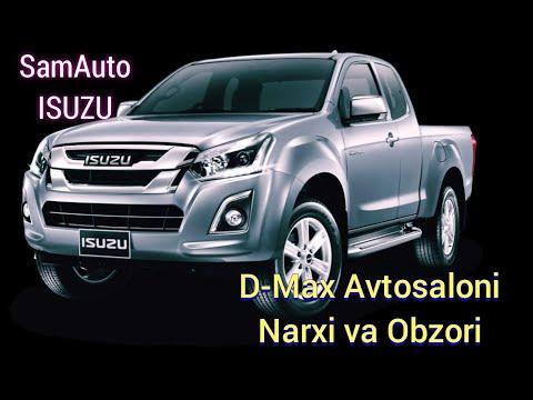 SamAuto Isuzu D-Max Avtomobil Avtosalon Narxi va Obzori